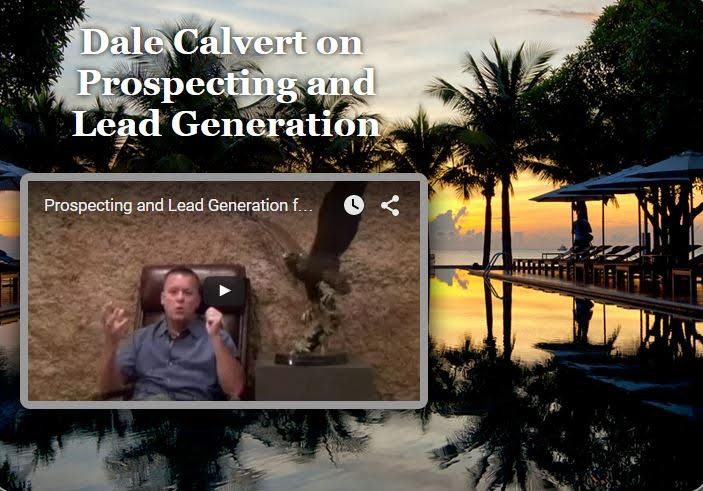 Dale Calvert on Prospecting and Lead Generation Sept 2015